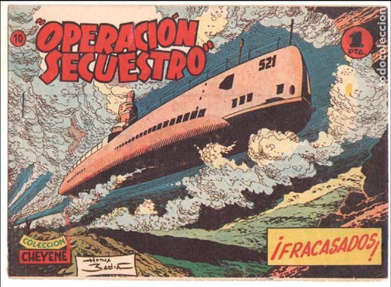 Tebeos: OPERACIÓN SECUESTRO ORIGINALES, LOTE - 1 - 4 - 5 - 10 - 11 - 12 - 13 - 14 Y ÚLTIMO , EDI MARCO 1959 - Foto 8 - 65423595