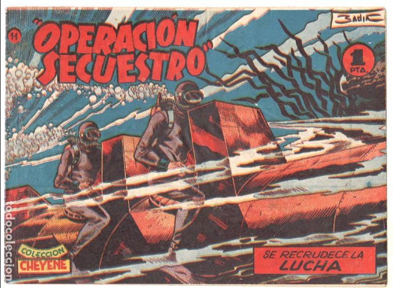 Tebeos: OPERACIÓN SECUESTRO ORIGINALES, LOTE - 1 - 4 - 5 - 10 - 11 - 12 - 13 - 14 Y ÚLTIMO , EDI MARCO 1959 - Foto 10 - 65423595