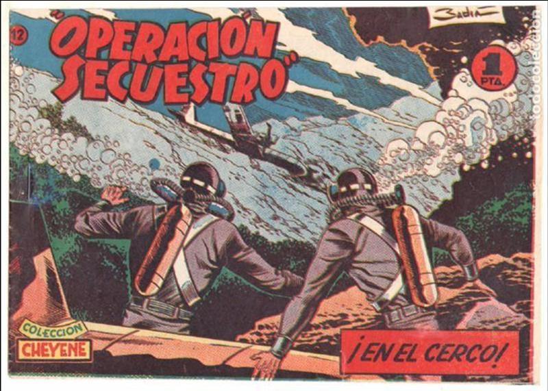 Tebeos: OPERACIÓN SECUESTRO ORIGINALES, LOTE - 1 - 4 - 5 - 10 - 11 - 12 - 13 - 14 Y ÚLTIMO , EDI MARCO 1959 - Foto 12 - 65423595