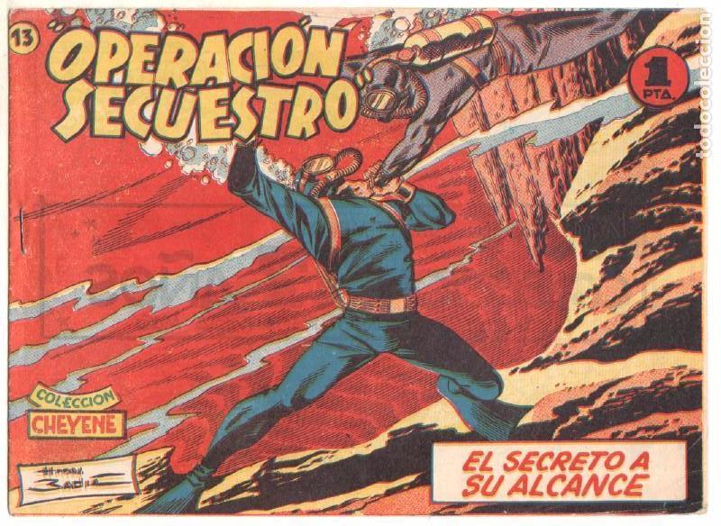 Tebeos: OPERACIÓN SECUESTRO ORIGINALES, LOTE - 1 - 4 - 5 - 10 - 11 - 12 - 13 - 14 Y ÚLTIMO , EDI MARCO 1959 - Foto 14 - 65423595