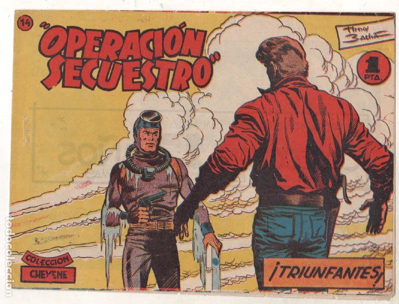 Tebeos: OPERACIÓN SECUESTRO ORIGINALES, LOTE - 1 - 4 - 5 - 10 - 11 - 12 - 13 - 14 Y ÚLTIMO , EDI MARCO 1959 - Foto 16 - 65423595