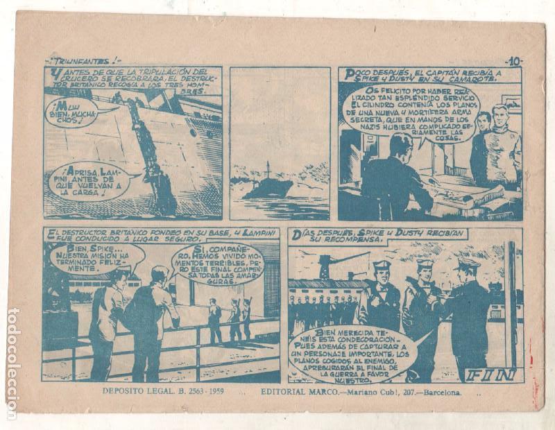 Tebeos: OPERACIÓN SECUESTRO ORIGINALES, LOTE - 1 - 4 - 5 - 10 - 11 - 12 - 13 - 14 Y ÚLTIMO , EDI MARCO 1959 - Foto 17 - 65423595