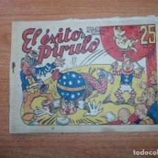 BDs: PIRULO Y TONTOLOTE EL EXITO DE PIRULO ACROBÁTICA INFANTIL EDITORIAL MARCO 1942 ORIGINAL. . Lote 67065046