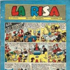 Tebeos: LA RISA 3ª EPOCA Nº 12 - OLIVE Y HONTORIA 1964 - CON RIPOLL, F. BOIX, CASTILLO, ETC. Lote 67196673