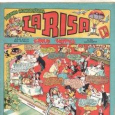 Tebeos: LA RISA Nº 50 EDI. MARCO 1954 - MARÍNEZ, E. BOIX - JULIO VIVA - CON CARTAPACIO Y SEGUIDILLA. Lote 68877673