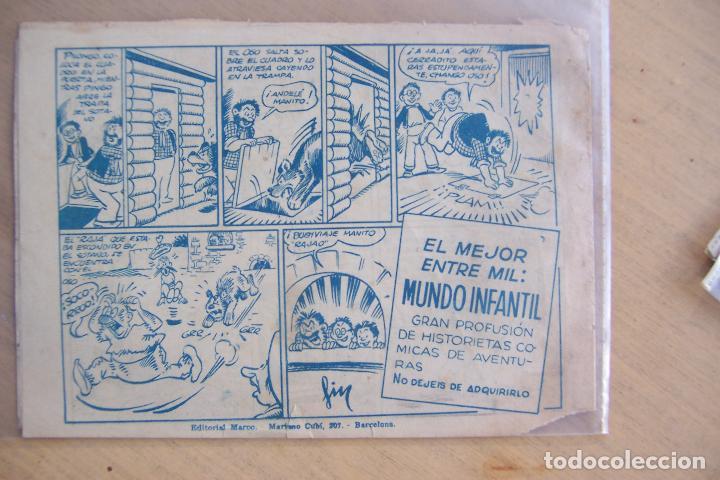 Tebeos: marco pingo - tongo y pilongo nº documento secreto y 7 nº mas - Foto 7 - 34267320
