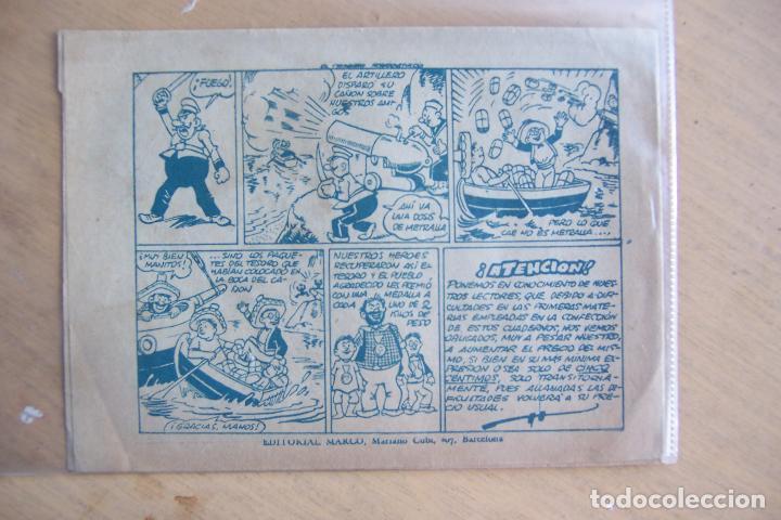 Tebeos: marco pingo - tongo y pilongo nº documento secreto y 7 nº mas - Foto 13 - 34267320