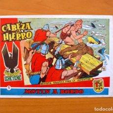 Tebeos: CABEZA DE HIERRO, Nº 5 MOTIN A BORDO - EDITORIAL MARCO 1959. Lote 69266117