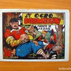 Tebeos: CUENTO DE HADAS - EL OGRO DORMILÓN - EDITORIAL MARCO, AÑOS 40. Lote 69270373