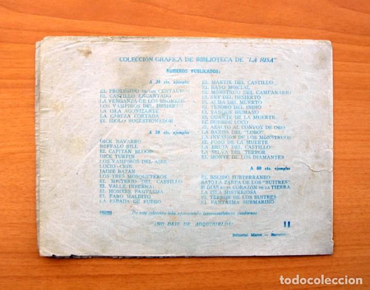 Tebeos: Gran colección de aventuras gráficas, biblioteca la risa - La perla negra - Editorial Marco 1940 - Foto 5 - 69272213