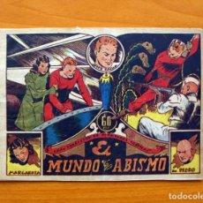 Tebeos: GRAN COLECCIÓN AVENTURAS GRÁFICAS -JAIME BAZÁN - 1 - EL MUNDO DEL ABISMO - EDIT. MARCO 1940. Lote 69278337