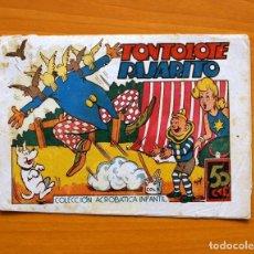 Tebeos: PIRULO Y TONTOLOTE - TONTOLOTE PAJARITO - EDITORIAL MARCO, AÑOS 40. Lote 69313897