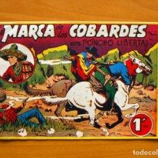 Tebeos: PONCHO LIBERTAS, Nº 2 MARCA DE COBARDES - EDITORIAL MARCO. Lote 69314893