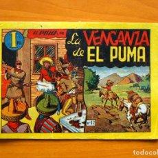 Tebeos: EL PUMA, Nº 12 LA VENGANZA DE EL PUMA - EDITORIAL MARCO 1946. Lote 69318101