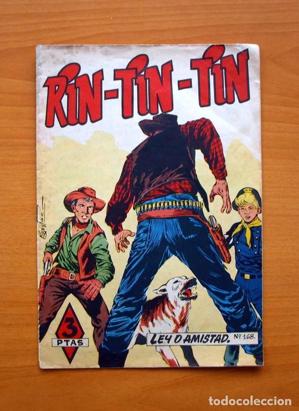 RIN TIN TIN, Nº 168 LEY O AMISTAD - EDITORIAL MARCO 1960 (Tebeos y Comics - Marco - Rin-Tin-Tin)