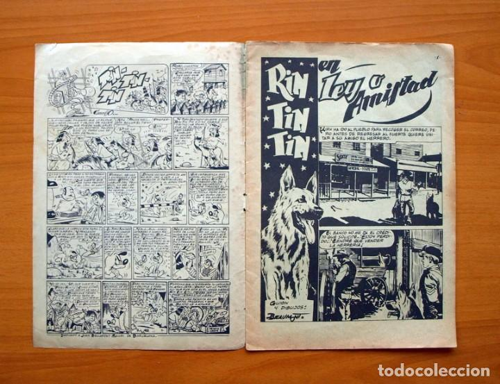 Tebeos: Rin Tin Tin, nº 168 Ley o amistad - Editorial Marco 1960 - Foto 2 - 69329493
