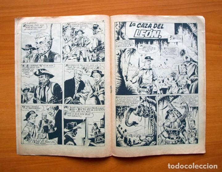 Tebeos: Rin Tin Tin, nº 168 Ley o amistad - Editorial Marco 1960 - Foto 4 - 69329493