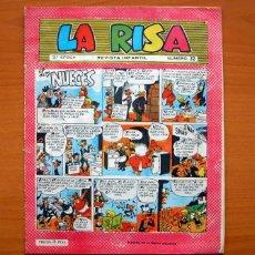 Tebeos: LA RISA 3ª ÉPOCA - Nº 32 LOS NUECES - EDITORIAL MARCO 1965. Lote 69332713