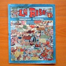 Tebeos: LA RISA 2ª ÉPOCA - Nº 15 DOMINGOS PLAYEROS - EDITORIAL MARCO 1952. Lote 69333689
