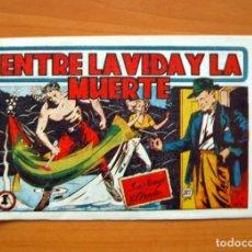 Tebeos: SANTIAGO Y ELENA, Nº 4 ENTRE LA VIDA Y LA MUERTE - EDITORIAL MARCO 1949. Lote 69334677