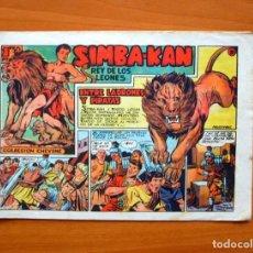 Tebeos: SIMBA-KAN, Nº 9 ENTRE LADRONES Y PIRATAS - EDITORIAL MARCO 1959. Lote 69341929