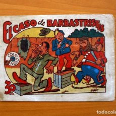Tebeos: CARTAPACIO Y SEGUIDILLA . EL CASO DE BARBASTRISTES - EDITORIAL MARCO, AÑOS 40. Lote 69354569