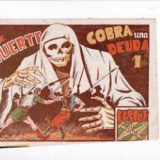Tebeos: CASTOR EL INVENCIBLE Nº 30 -MARCO 1951-. Lote 69619161