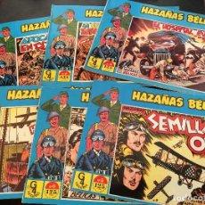 Tebeos: HAZAÑAS BELICAS LOTE Nº 5, 6, 7, 8, 9 Y 10 (EDICIONES G4) (COI24). Lote 71032637