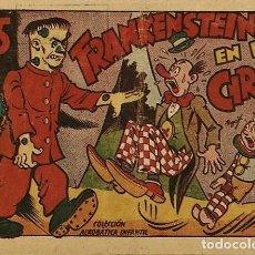 Tebeos: FRANKENSTEIN EN EL CIRCO, DE E. BOIX. COLECCION ACROBATICA INFANTIL DE MARCO, (1942). Lote 73428699