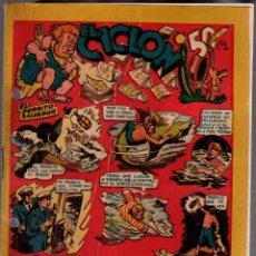 Tebeos: EL CICLON. EDICIONES MARCO. ORIGINAL. Lote 76383935