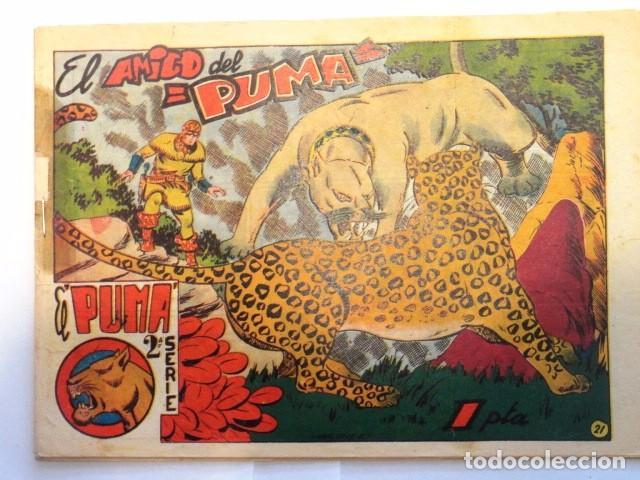 COMIC EL PUMA, EL AMIGO DEL PUMA 2ª SERIE EDITORIAL MARCO Nº21 (Tebeos y Comics - Marco - Otros)
