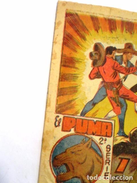 Tebeos: COMIC EL PUMA EN LA TRAMPA 2ª SERIE EDITORIAL MARCO Nº28 - Foto 2 - 77515889