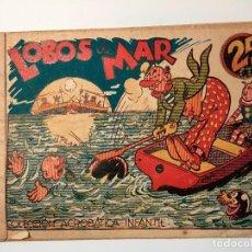 Tebeos: LOBOS DE MAR - EDITORIAL MARCO 25 CTS. ORIGINAL Y DE EPOCA.. Lote 82041844