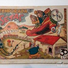 Tebeos: TEMPORADA DE SETAS - BIBLIOTECA ESPECIAL PARA NIÑOS - EDICIONES MARCOS 30 CTS. ORIGINAL. Lote 82095920