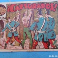 Tebeos: EL PUMA , N. 33 , CAPTURADOS , PRIMERA SERIE , MARTINEZ , MARCO 1952. Lote 82378404