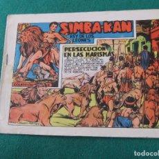 Tebeos: SIMBA-KAN REY DE LOS LEONES Nº 12 EDITORIAL MARCO. Lote 84049852
