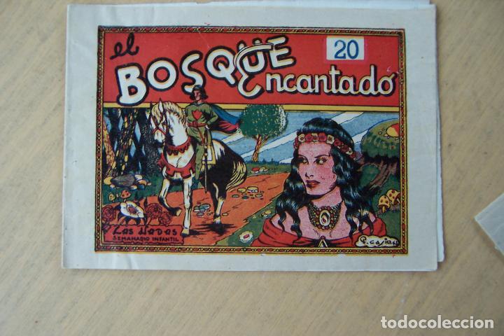 MARCO,- LAS HADAS SEMANARIO INFANTIL Nº EL BOSQUE ENCANTADO POR P. CASIA 43 (Tebeos y Comics - Marco - Otros)