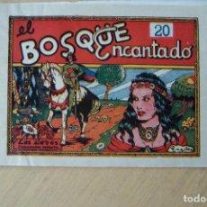 Tebeos: MARCO,- LAS HADAS SEMANARIO INFANTIL Nº EL BOSQUE ENCANTADO POR P. CASIA 43. Lote 84437916