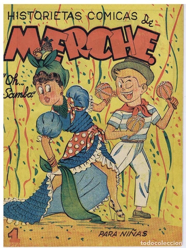 HISTORIETAS COMICAS MERCHE N º 32 (Tebeos y Comics - Marco - Otros)