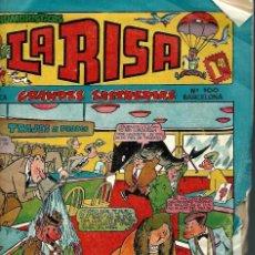 Tebeos: LA RISA Nº 100 - MARCO 1958 - CON 4 HISTORIETAS DE FRANCISCO IBAÑEZ - KOKOLO, BOB-AYNA Y PAT-ACON. Lote 87095584