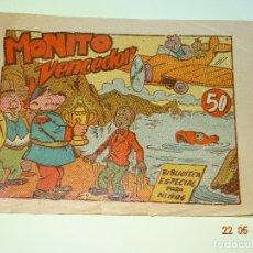 Tebeos: MONITO VENCEDOR DE BIBLIOTECA ESPECIAL PARA NIÑOS DE EDITORIAL MARCO- AÑO 1940S.. Lote 87270424