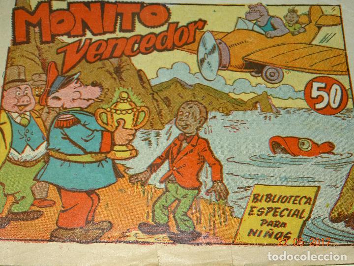 Tebeos: MONITO VENCEDOR de Biblioteca Especial para Niños de Editorial MARCO- Año 1940s. - Foto 2 - 87270424