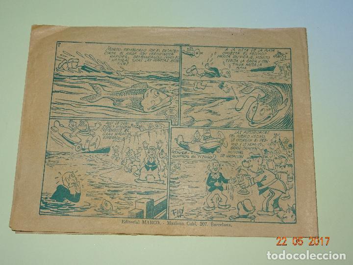 Tebeos: MONITO VENCEDOR de Biblioteca Especial para Niños de Editorial MARCO- Año 1940s. - Foto 3 - 87270424