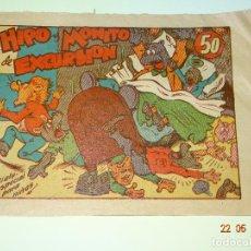 Tebeos: HIPO Y MONITO DE EXCURSION - BIBLIOTECA ESPECIAL PARA NIÑOS DE EDITORIAL MARCO- AÑO 1940S.. Lote 87270784