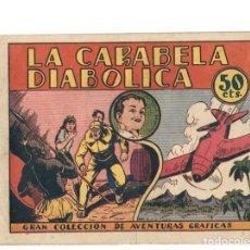 Tebeos: GRAN COLECCION DE AVENTURAS GRAFICAS. LA CARABELA DIABOLICA. Nº 3 DE LOS NAVARRO. LA RISA. Lote 87351628