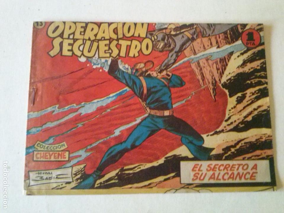 OPERACION SECUESTRO Nº 13-. MARCO -ORIGINAL POR ABRIR- (Tebeos y Comics - Marco - Otros)