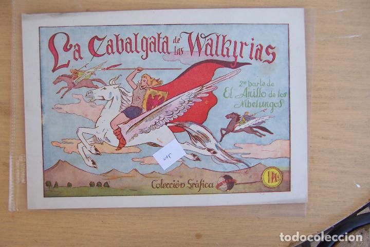MARCO.- COLECCION GRAFICA UNIVERSO Nº 5 Nº 2 DEL ANILLO DE LOS NIBELUNGOS (Tebeos y Comics - Marco - Otros)