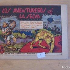 Tebeos: MARCO.- GRAN COLECCION DE AVENTURAS GRAFICA, Nº MAYNE-REID Nº 1. Lote 89261920