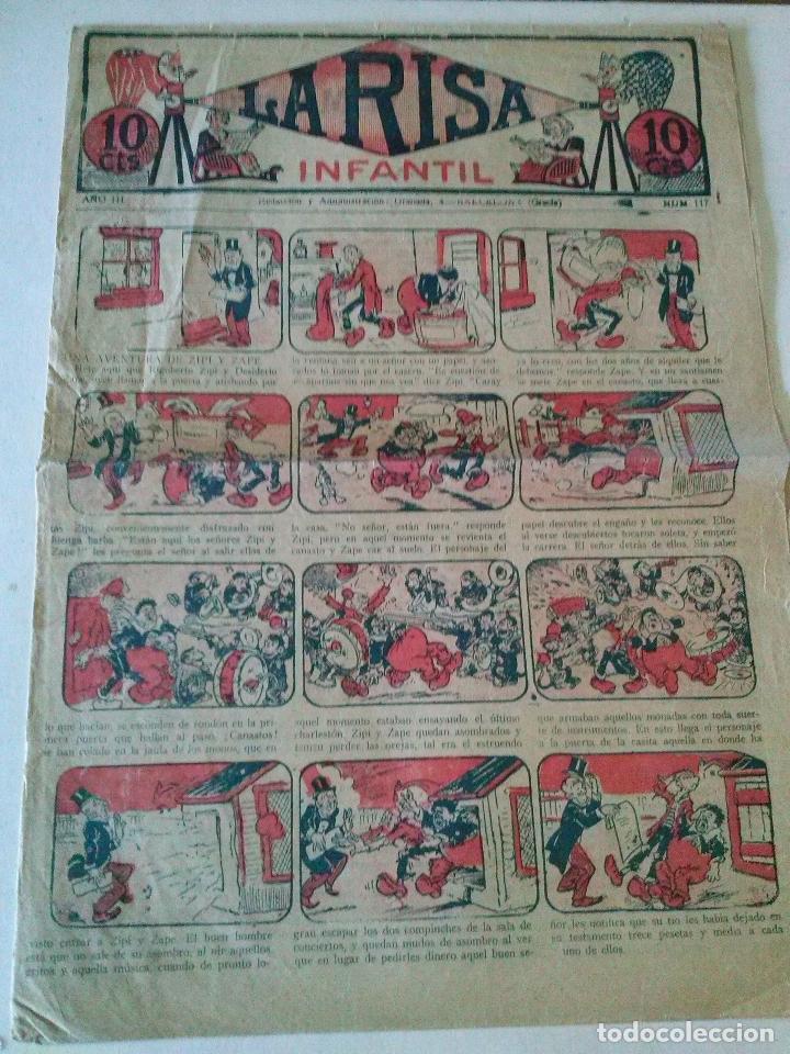 LA RISA INFANTIL Nº 117, MARCO , ORIGINAL POR ABRIR (Tebeos y Comics - Marco - La Risa)