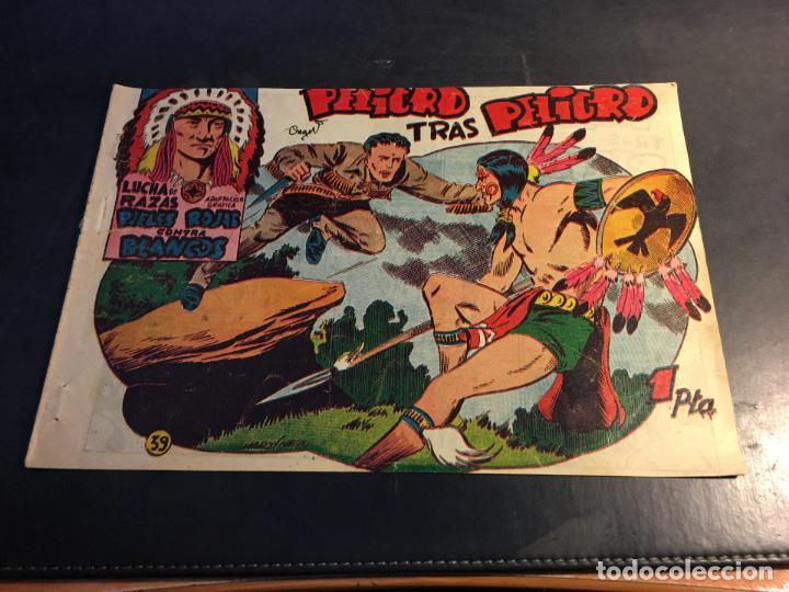 LUCHA DE RAZAS. PIELES ROJAS CONTRA BLANCOS Nº 39 (ORIGINAL MARCO) (C5) (Tebeos y Comics - Marco - Otros)